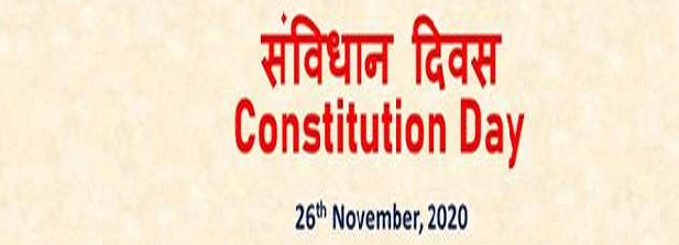 Celebration of Constitution Day 2020 on 26th November